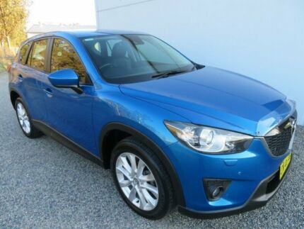 2013 Mazda CX-5 KE1021 Grand Touring SKYACTIV-Drive AWD Blue 6 Speed Sports Automatic Wagon Glendale Lake Macquarie Area Preview