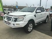 2013 Ford Ranger PX XLT 4x2 White 6 Speed Auto Active Select Dual Cab Capalaba Brisbane South East Preview