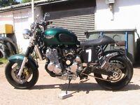 Triumph Adventurer (custom) 2000 MOT may 1.....Relisted