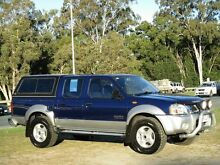 2002 Nissan Navara D22 MY2002 ST-R Blue 5 Speed Manual Utility Strathpine Pine Rivers Area Preview