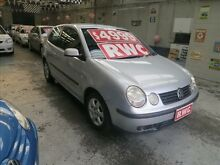 2004 Volkswagen Polo 9N Club Silver 5 Speed Manual Hatchback Mordialloc Kingston Area Preview