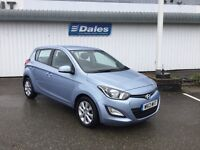 Hyundai i20 Active CRDi 1.2 - 5 Door Diesel (blue) 2013