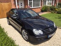 Mercedes CLK 320D Avantgarde model 2007, immaculate condition with a full list of options.