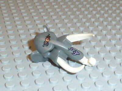 LEGO®Chima 1x Maske Kopfbedeckung dunklegrau Mungus 16667c01pb01 aus - Lego Kopf Maske