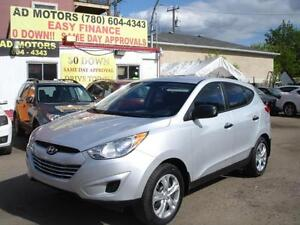 2011 HYUNDAI TUCSON 4X4 REMOTE STARTER 40K-100% APPROVED FINANCE