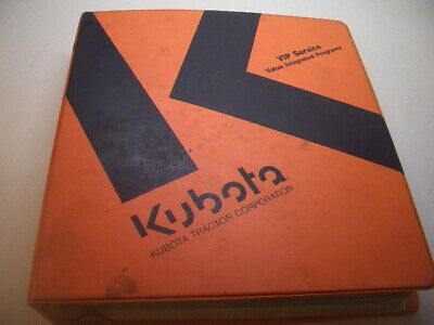 Kubota R310 R410 Workshop Manual Flat Rate Schedule Wheel Loader Manuals M9