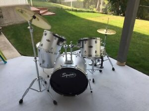 Squier Drum Set for Sale.