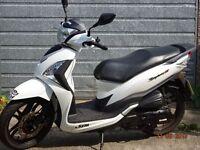 scooter 2015 reg 125cc