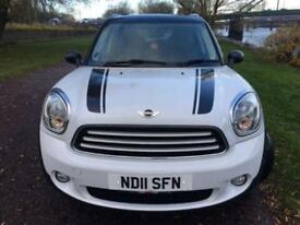 2011 L MINI COUNTRYMAN 1.6 COOPER D ALL4 5D 112 BHP DIESEL