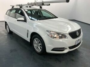 2015 Holden Commodore VF MY15 Evoke Heron White 6 Speed Automatic Sportswagon Sunshine North Brimbank Area Preview