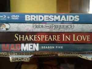 (TV Season's and Movies) in Both BluRay and DVD