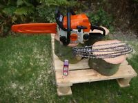 stihl ms 180 petrol chainsaw