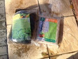 Garden netting and frost protection