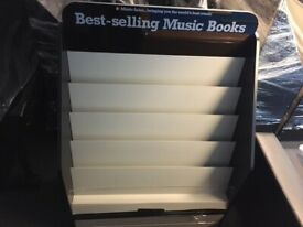 Book retail display stands - several available. Collection from Haslemere