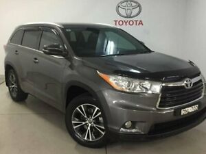 2016 Toyota Kluger GSU50R GXL 2WD Grey 6 Speed Sports Automatic Wagon West Ryde Ryde Area Preview