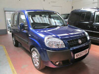 60 FIAT DOBLO WHEELCHAIR ADAPTED DISABLED 50 + ADAPTED VEHICLES IN STOCK