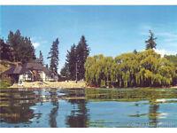 At historic Cameron Point on Okanagan Lake, Vernon, BC.