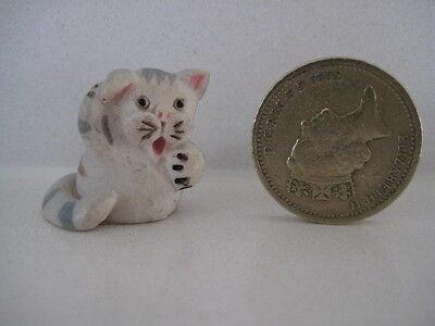 RARE ORIGINAL COLOUR BOX CAT PETER FAGAN HOPSCOTCH MINIS H39 WASHING CAT