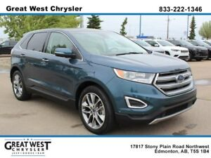 2016 Ford Edge AWD**PWR SEATS**LEATHER**PANO ROOF**CARGO MAT**BL