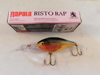 CH Rootbeer Details about  /Custom Painted Rapala Risto Rap,RR-8