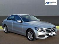 2015 Mercedes-Benz C Class C200 BLUETEC SE Diesel silver Automatic