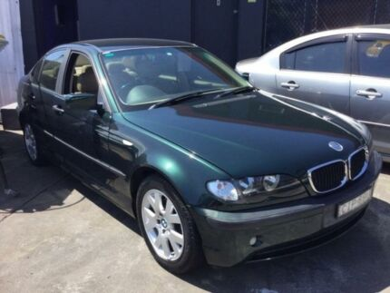 2002 BMW 318I E46 Green Sports Automatic Sedan