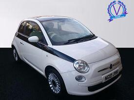 FIAT 500 1.2 Pop 3dr (white) 2010