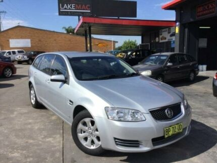 2012 Holden Commodore VE II Omega Silver Sports Automatic Wagon