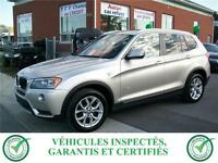 BMW X3 28I XDRIVE GROUPE TECH 2013***97$/SEM***