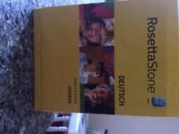Rosetta Stone Learning German 1 to 5