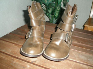 Kensie Leather Boots For Sale
