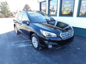 2016 Subaru Outback 2.5i w/Touring Pkg for $231 bi-weekly!