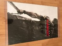 Large Hanging Rambo movie poster in plastic covering - 111 cm x 68 cm