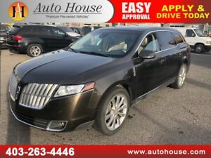 2011 LINCOLN MKT ECOBOOST NAVIGATION BACKUP CAMERA 2 DVD SCREENS