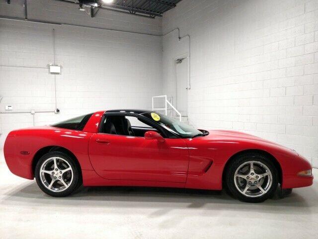 2003 Red Chevrolet Corvette  Z51 | C5 Corvette Photo 2