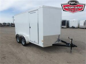 7 X 12 BY WELLS CARGO - LOADED W/OPTIONS FOR ONLY $6,599 TAX IN!