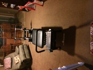 AeroPilates 5 Cord Reformer with Rebounder and Stand