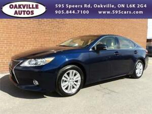 2014 Lexus ES 350 NAVIGATION PREMIUM COOLED SEATS SAFETY INCL