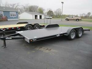 NEW 2014/2015/2016 16ft to18ft open car hauler trailer - WANTED