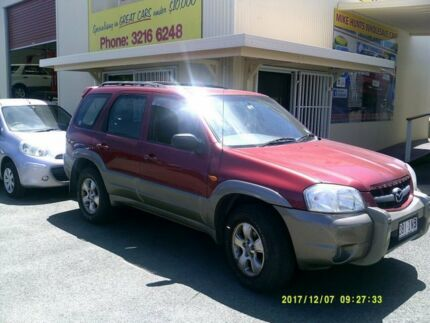 2002 Mazda Tribute Limited Red 4 Speed Automatic 4x4 Wagon Coopers Plains Brisbane South West Preview