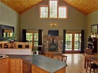 Executive Alpine style 2 Bedroom Canmore home for rent