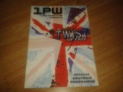1PW WRESTLING PROGRAMME A CRUEL TWIST OF FATE 2005 AJ STYLES RAVEN SANDMAN ABYSS