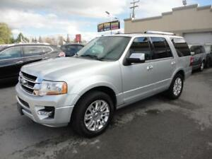 Ford Expedition Limited 2017 Limited-4X4-Cuir-Navi-Toit-DemDist