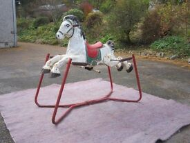 CHILDREN'S ROCKING HORSE -A TRADITIONAL TOY