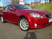 Lexus IS220d SE, 104k, climate + cruise control, 6-speed diesel, unmarked cream leather
