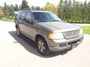 2002 Ford Explorer Limited SUV, Crossover