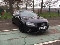 Audi A3 2.0TDI S-LINE 5 DOOR 2012 *ONLY 57K MILES FSH, BLACK ALLOY WHEELS*