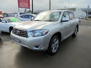 2008 Toyota Kluger GSU40R KX-S Silver 5 Speed Automatic Wagon