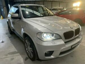 2013 BMW X5 E70 MY1112 xDrive30d Steptronic Silver Metallic 8 Speed Sports Automatic Wagon Boolaroo Lake Macquarie Area Preview