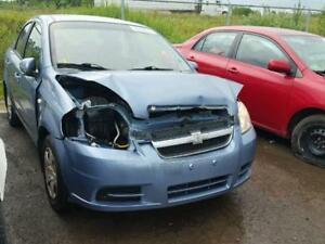 parting out 2008 chev aveo